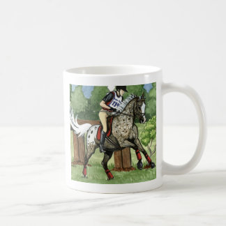 Horse Art APPALOOSA Eventing Coffee Mug