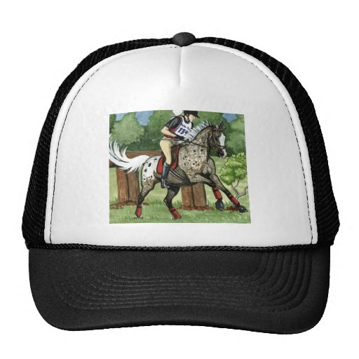 Horse Art APPALOOSA Eventing Trucker Hat