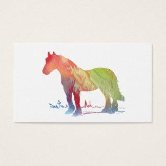 Horse art business card