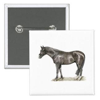 Horse Art Button