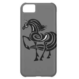 Horse art cover for iPhone 5C