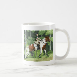 HORSE ART Cross-Country Up the Steps Eventing Coffee Mug