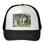 HORSE ART Cross-Country Up the Steps Eventing Hat