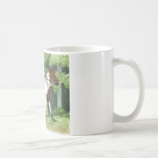 HORSE ART Cross-Country Up the Steps Eventing Mug