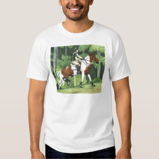 HORSE ART Cross-Country Up the Steps Eventing Shirt