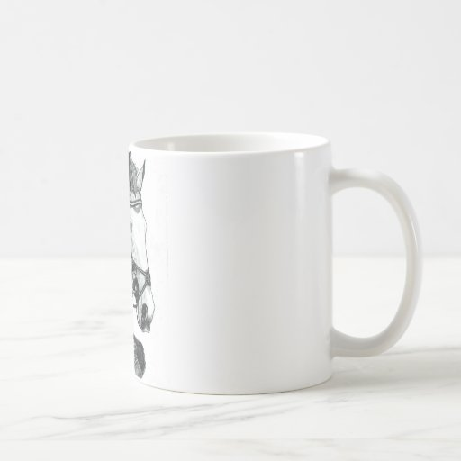 Horse Art EXTREME EVENTING Classic White Coffee Mug