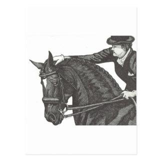 Horse Art GOOD JOB! Dressage Pat Postcard