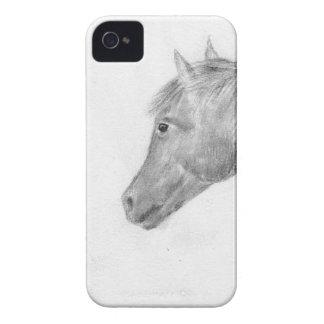 Horse art iPhone 4 cover
