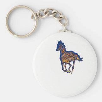 HORSE ART KEYCHAINS