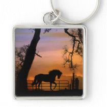 Horse Art Keychain
