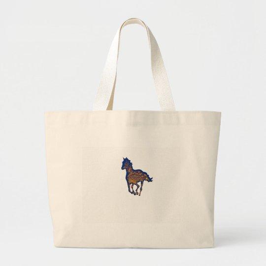 Horse Art Large Tote Bag