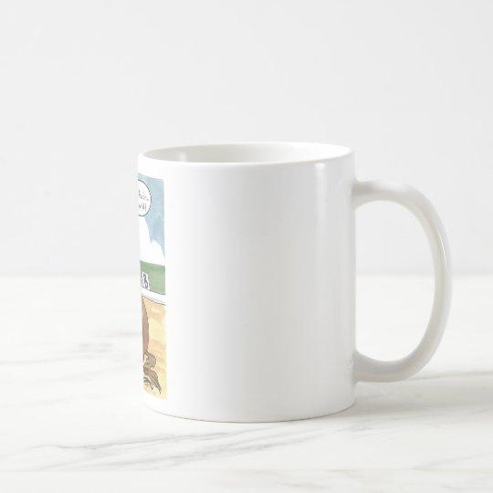 Horse art ON THE BIT now what Coffee Mug