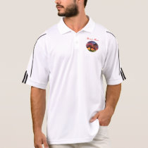Horse art polo shirt