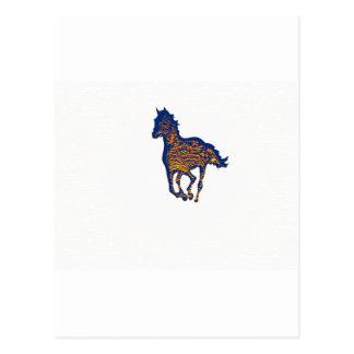 HORSE ART POST CARD