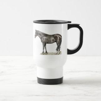 Horse Art Travel Mug