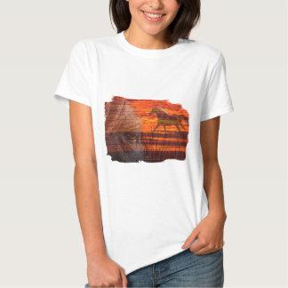 Horse Art:   Wildfire Tee Shirt