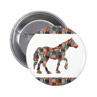 HORSE Artistic Collection Patches FUN NVN477 gifts Pin