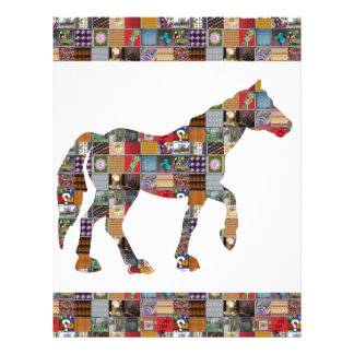HORSE Artistic Collection Patches FUN NVN477 gifts Letterhead