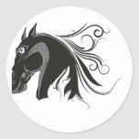 Horse Artwork:  Black Thunder Stickers