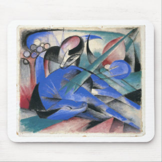 Horse Asleep by Franz Marc Mouse Pad