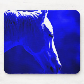 Horse At Night - Horse In Moonlight Mouse Pad