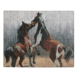 Horse AT PLAY Jigsaw Puzzle