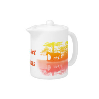 Horse At Twilight Teapot