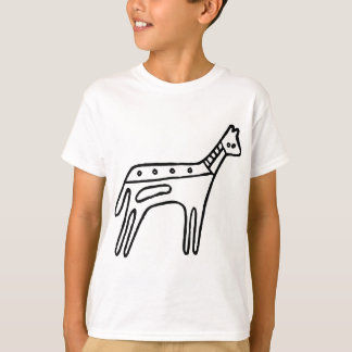 Horse, Australian drawing(Aborigine) T-Shirt