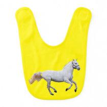 Horse Baby Bib