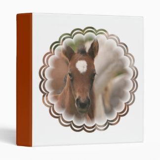 Horse Baby Binder