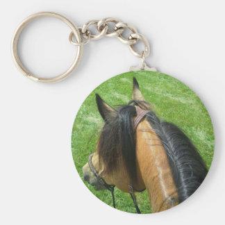 Horse Back Riding Keychain