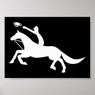Horse Ball  Icon Print