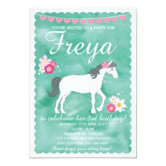 Horse Birthday Invitations Announcements Zazzle