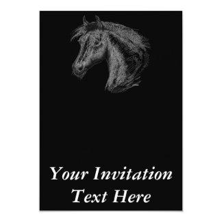 Horse:  Black Card