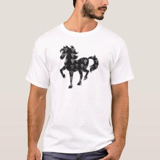 HORSE black pet animal race kids NavinJOSHI NVN57 T-Shirt