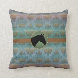 Horse Blanket Western Designer Pillow