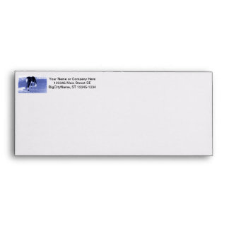 horse blue grazing in equine image envelope