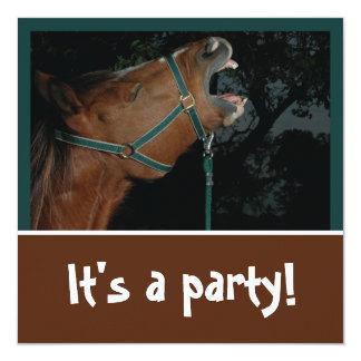 Horse Braying Party Invitation