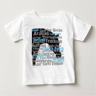 """Horse Breeds"" Infant T Shirts"
