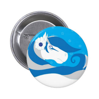Horse Bride Button