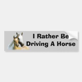 Horse Buddies Bumper Sticker Car Bumper Sticker