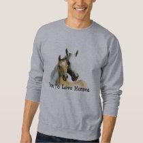 Horse Buddies Unisex Adult Sweatshirt