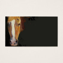 Horse Buissness Card