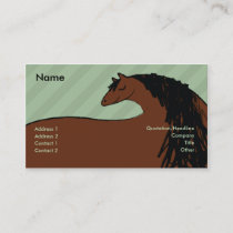 Horse - Business Business Card
