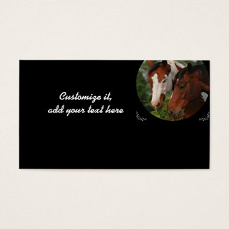 Horse business cards