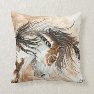 Horse by BiHrle Pillow