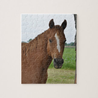 Horse by Tree Puzzles