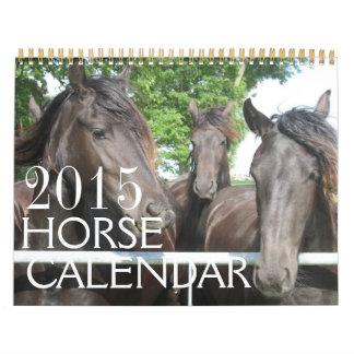 Horse Calendar 2015