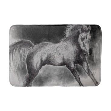 mindgoop horse cantering bath mat