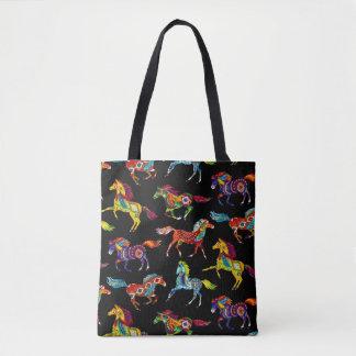 Horse Canvas Tote Bag